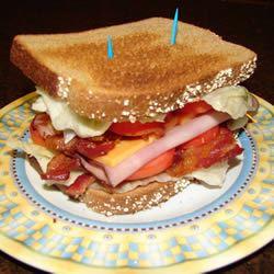 Amy's Triple Decker Turkey Bacon Sandwich GodivaGirl