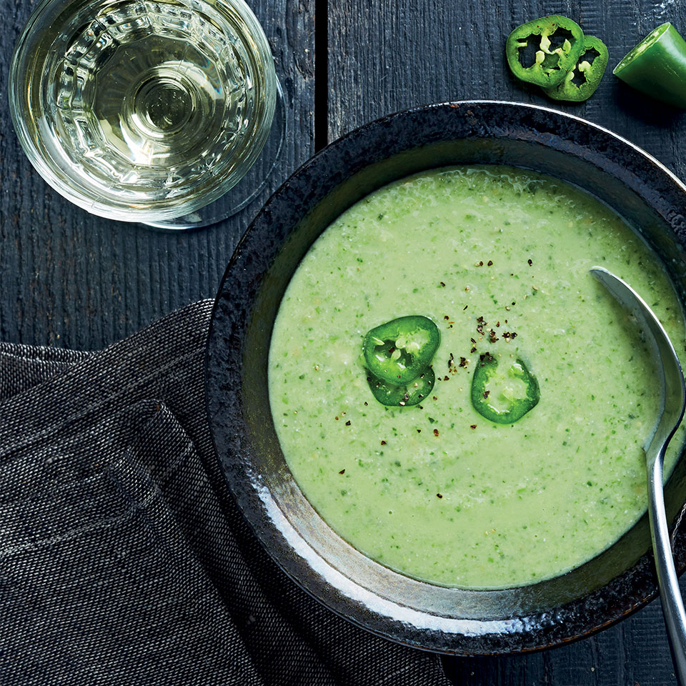 Green Tomatillo Gazpacho Trusted Brands