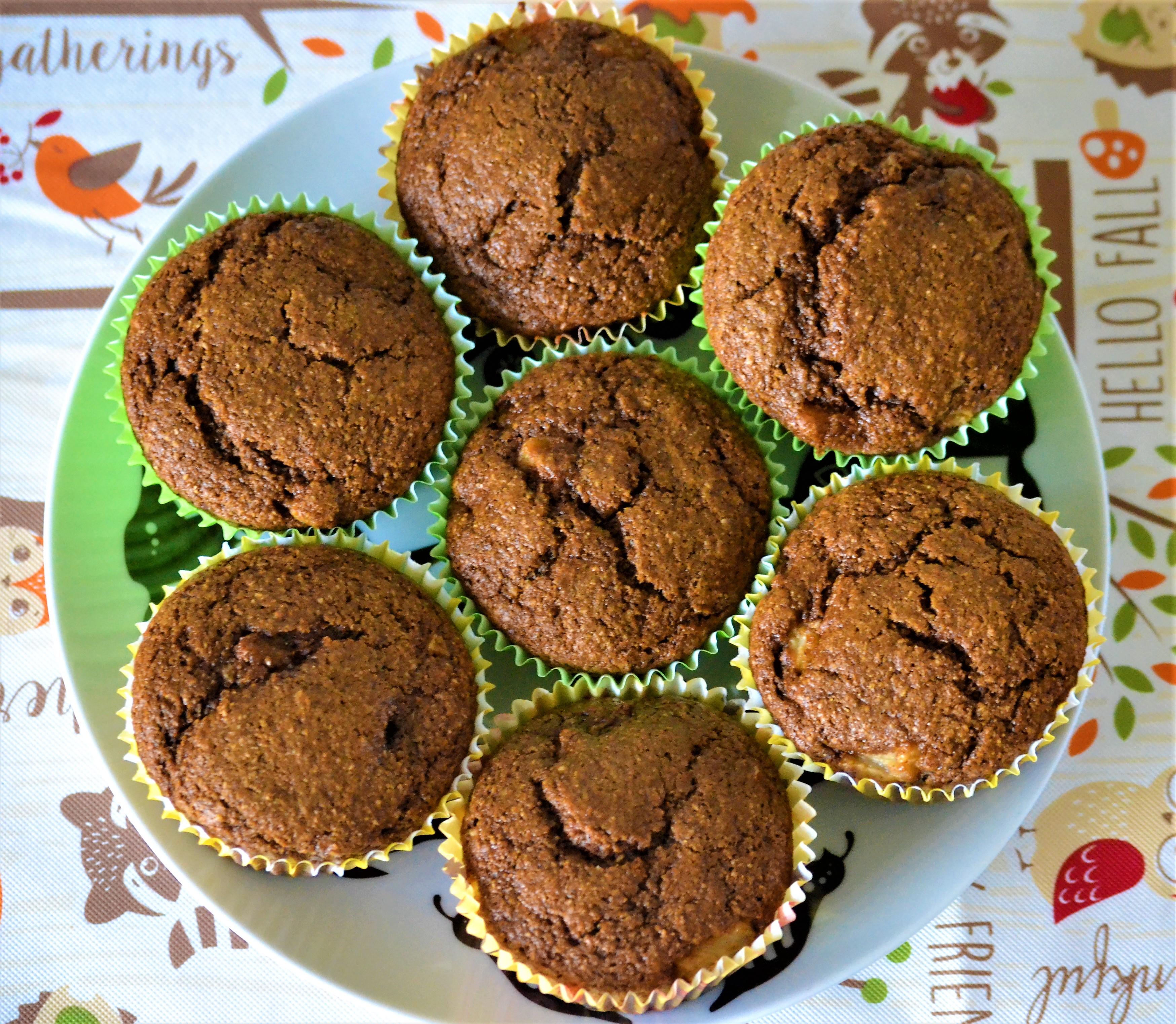 Gingerbread-Pear Muffins Kim
