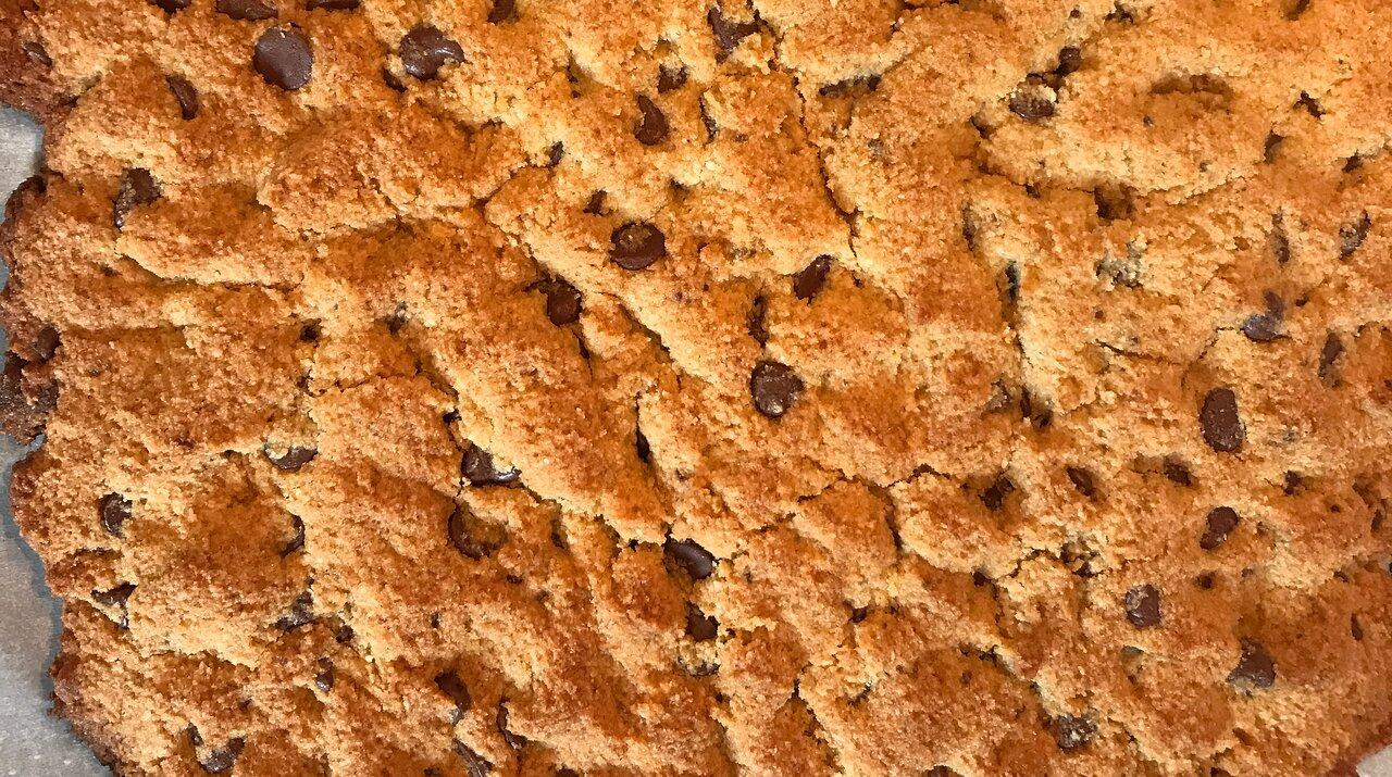 Coconut Almond Flour Chocolate Chip Cookies