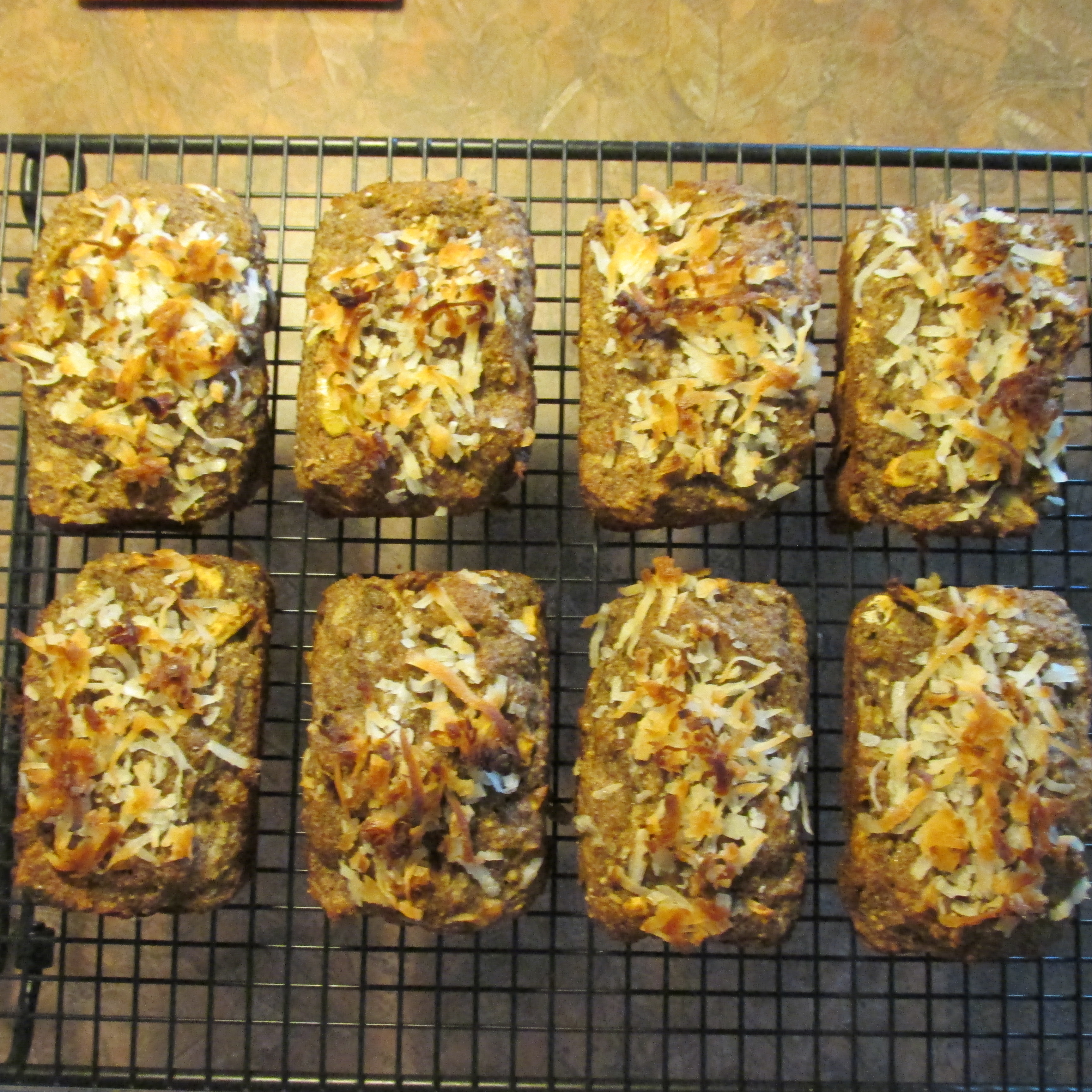 Banana Coconut Flaxseed Muffins with Apple and Chia Susie-Q