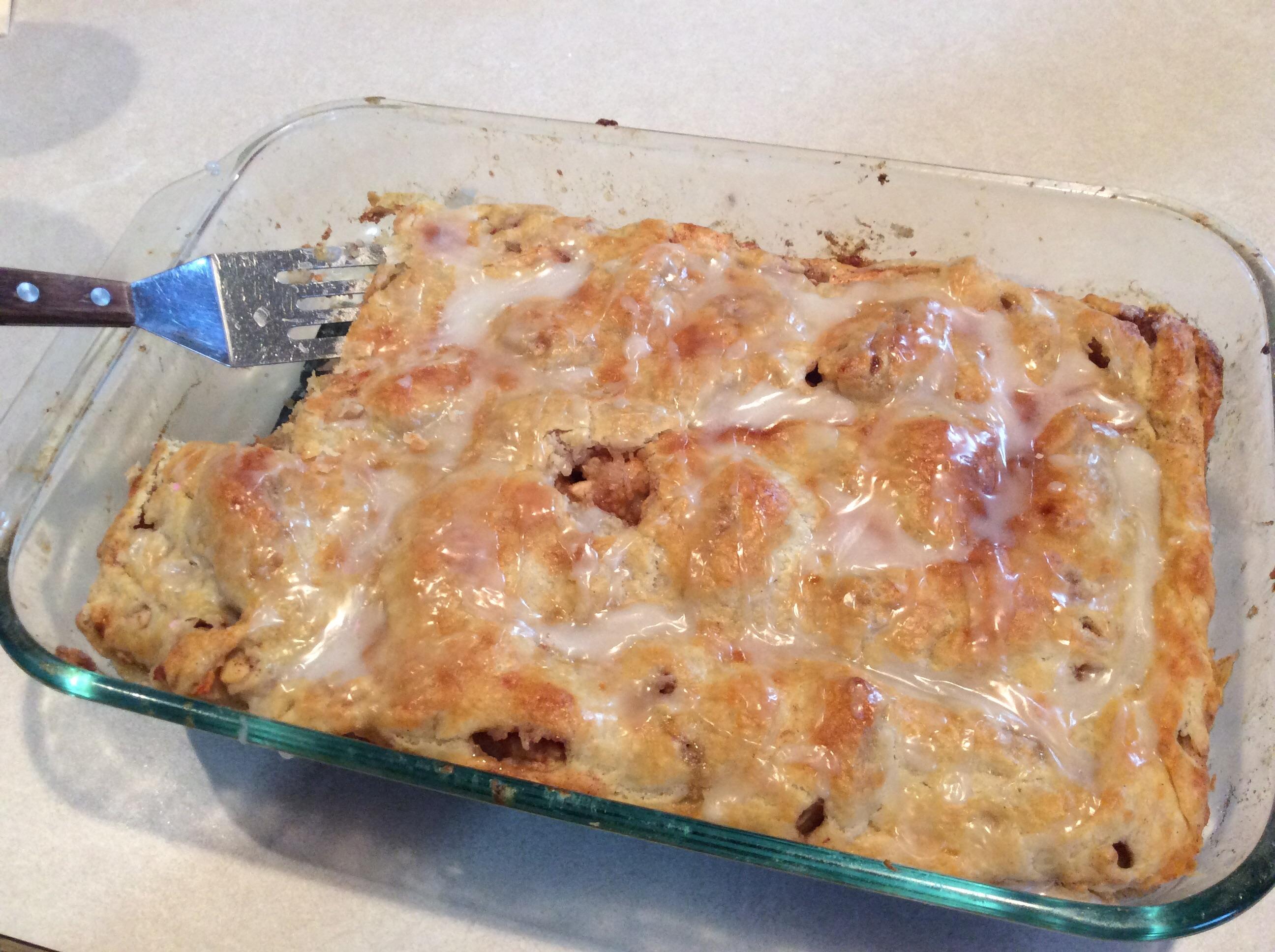 Danish Pastry Apple Bars II Cindy Welsh Mittleider