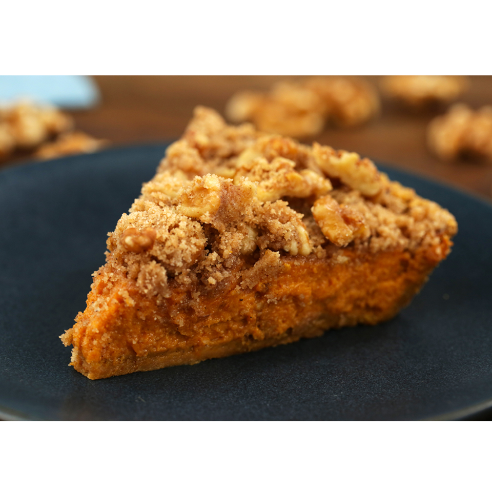 Harvest Walnut Pumpkin Pie AllrecipesPhoto