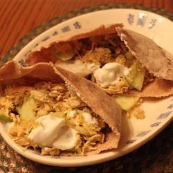Apple Curry Turkey Pita MaureenB