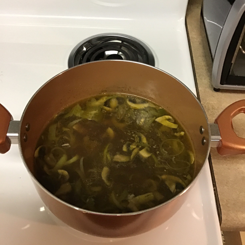 Mushroom and Leek Soup Liz Kruze