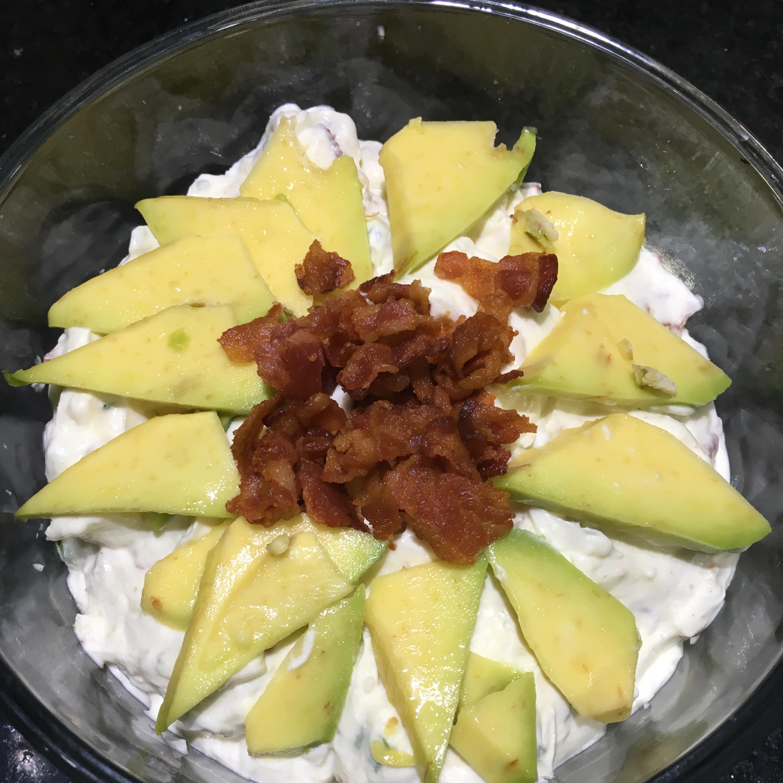 Bacon Avocado Cream Cheese Dip Danette