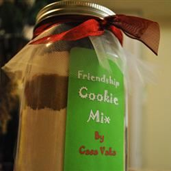 Homemade Chocolate Chip Cookie Mix