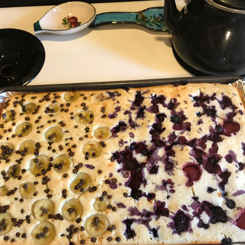 Easy Buttermilk Baking Sheet Pancakes