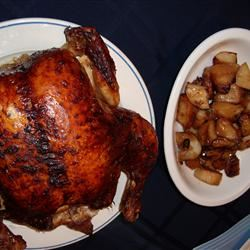 Roasted Herb Chicken and Potatoes giventime