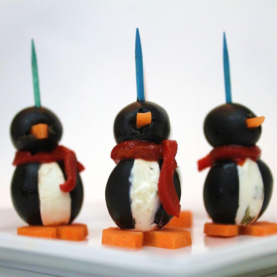 cream cheese penguins recipe