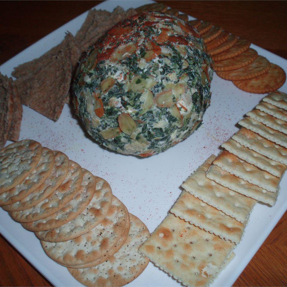 Spinach Artichoke Feta Ball daveycooks