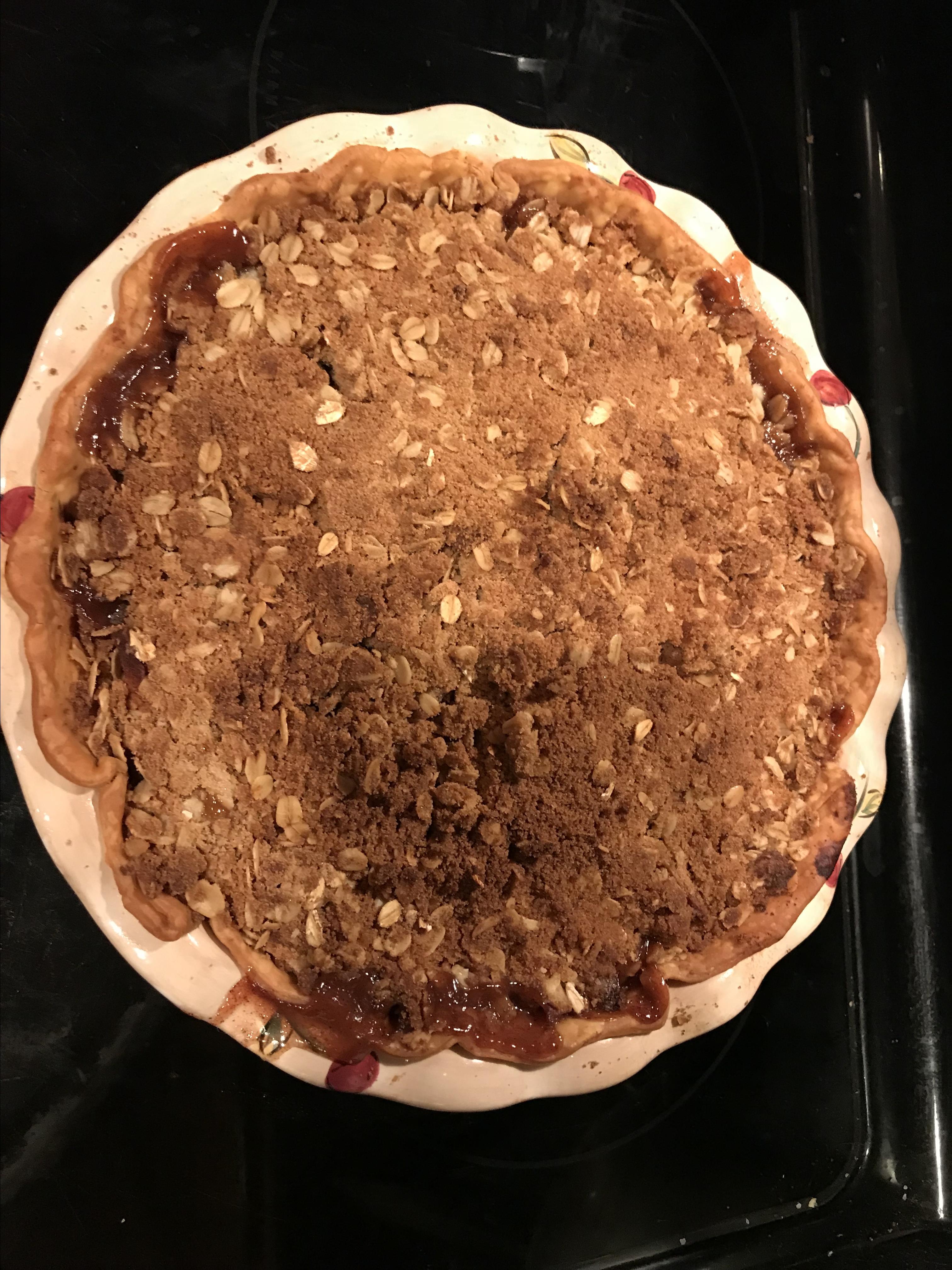 Crumb Apple Pie Kelly