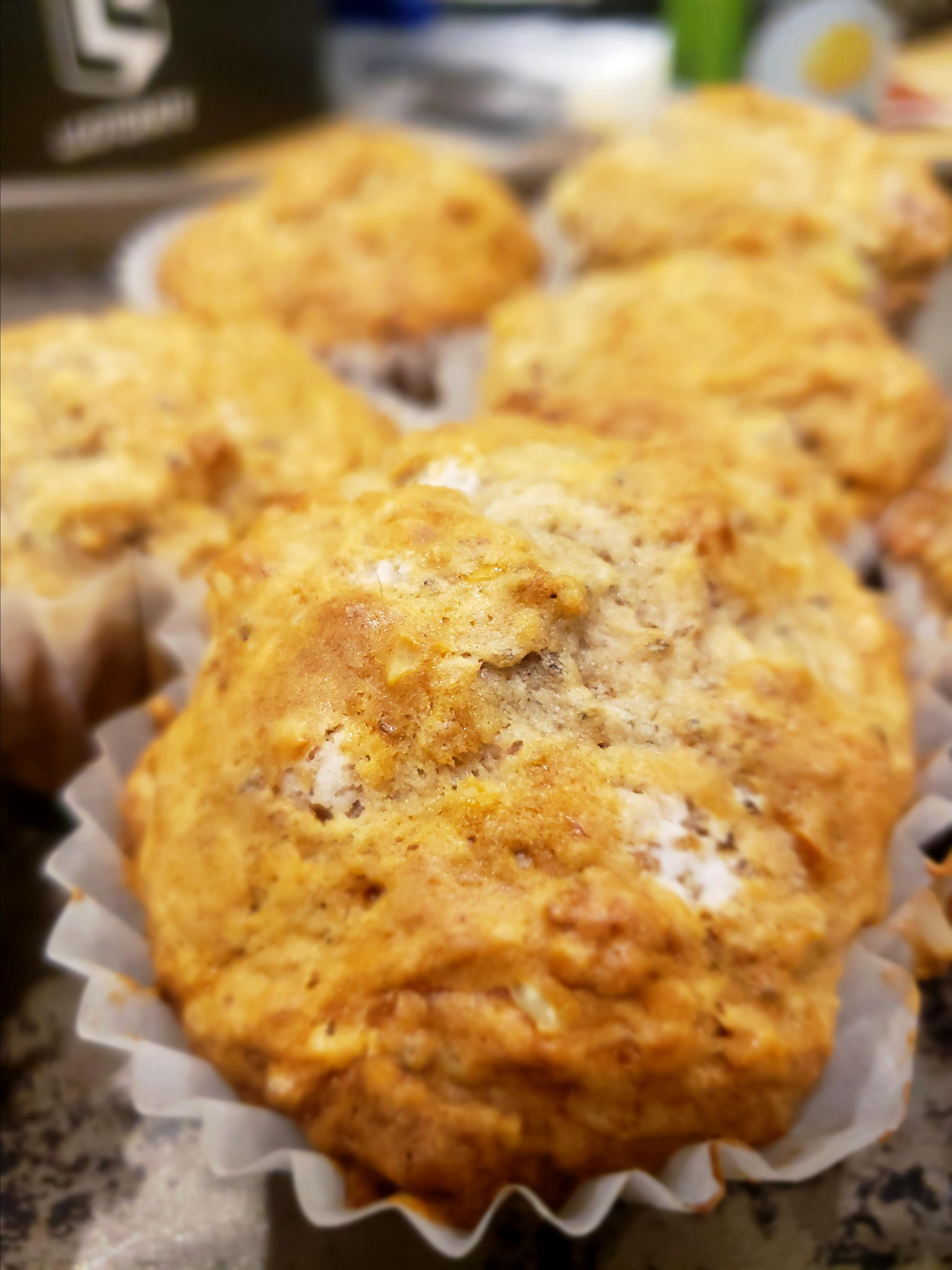 Gluten-Free Banana Walnut Chia Muffins