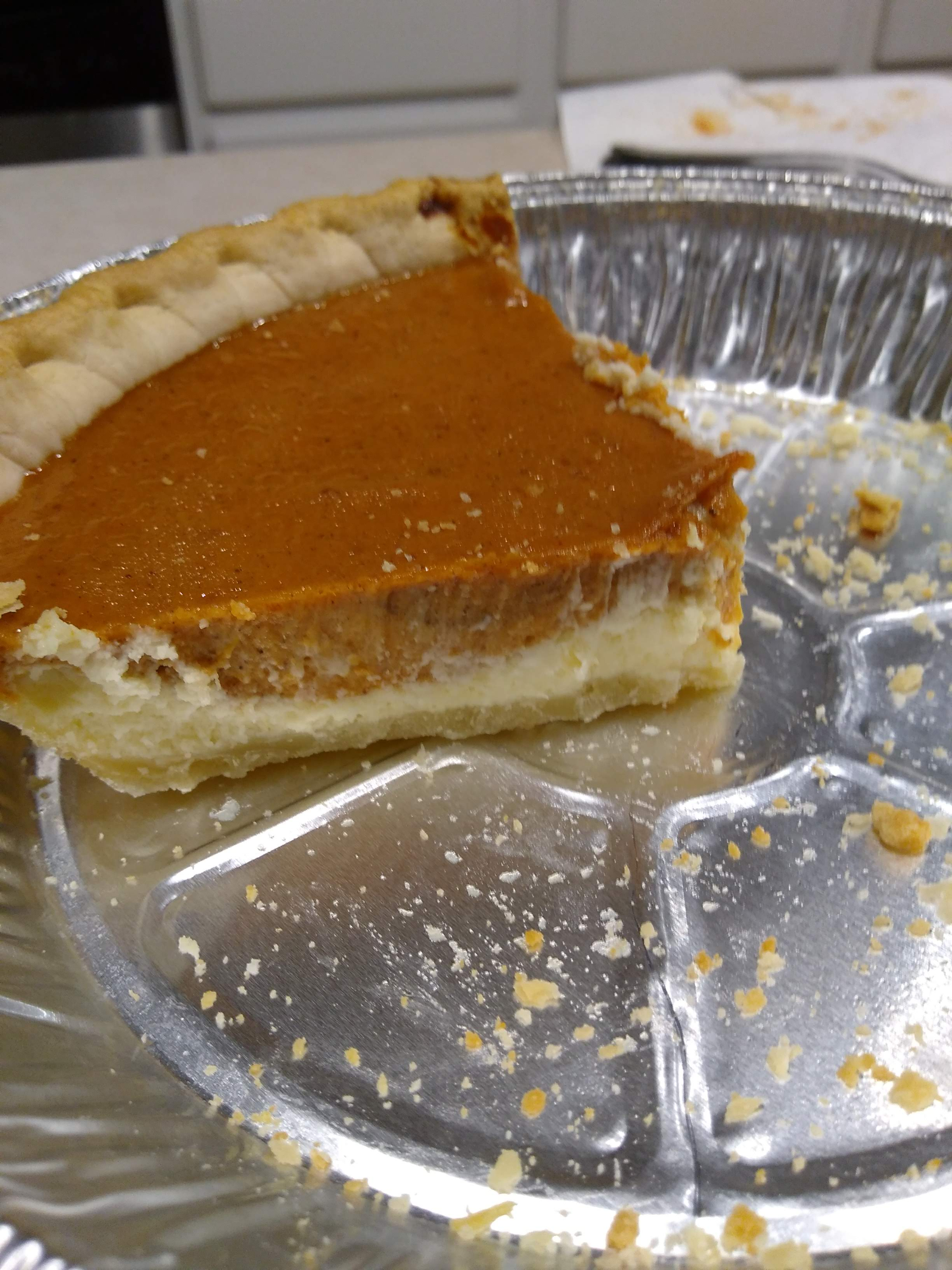 Double Layer Pumpkin Cheesecake Maggie