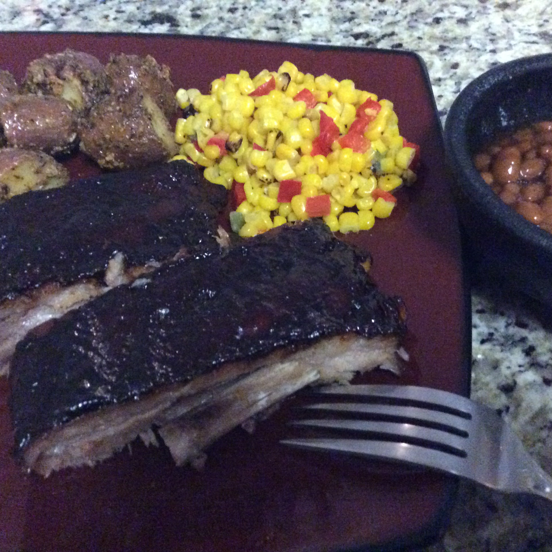 Baked BBQ Baby Back Ribs Scoot0023