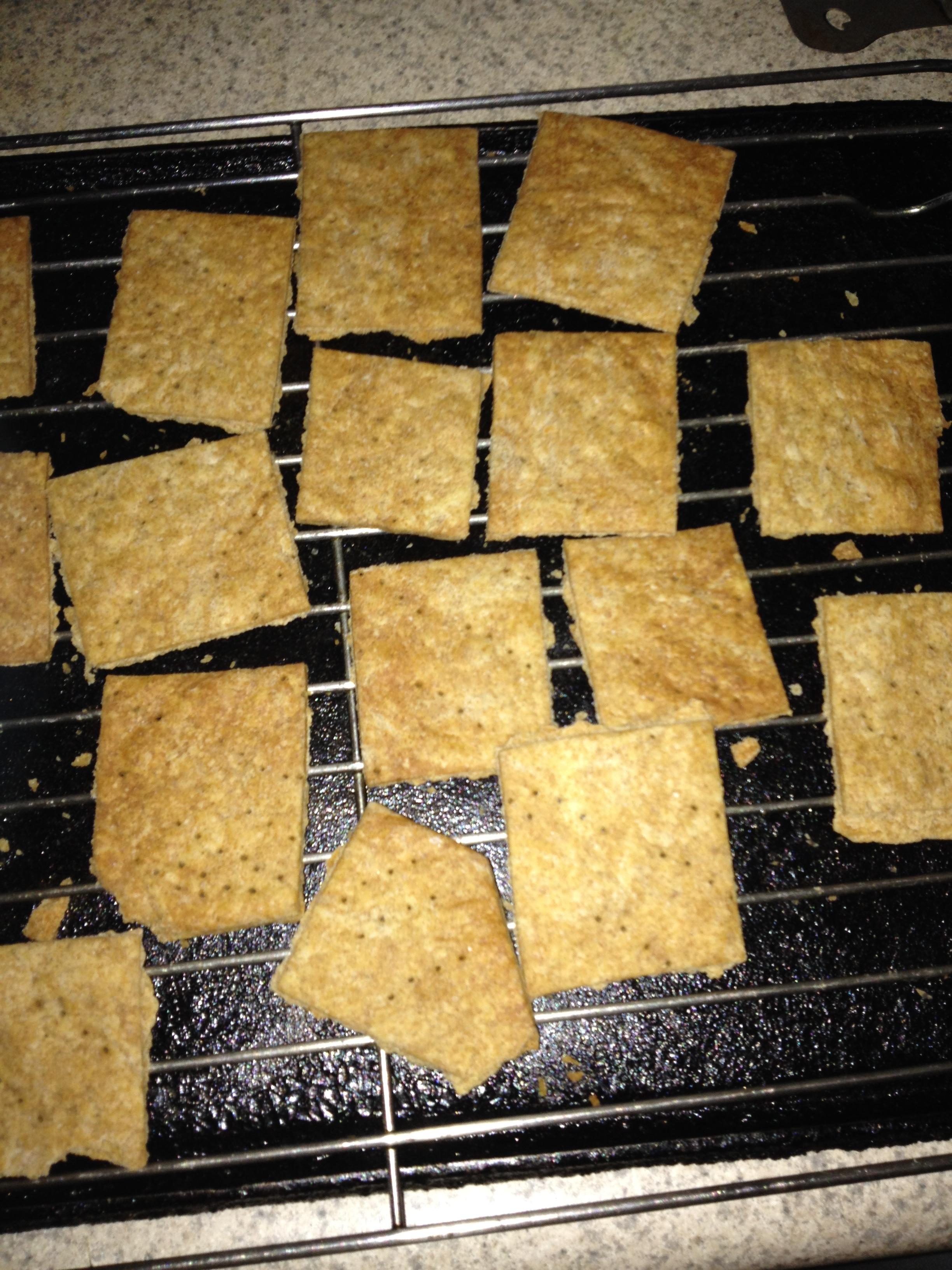 NY Style Rye Crackers Sharon Gilbert
