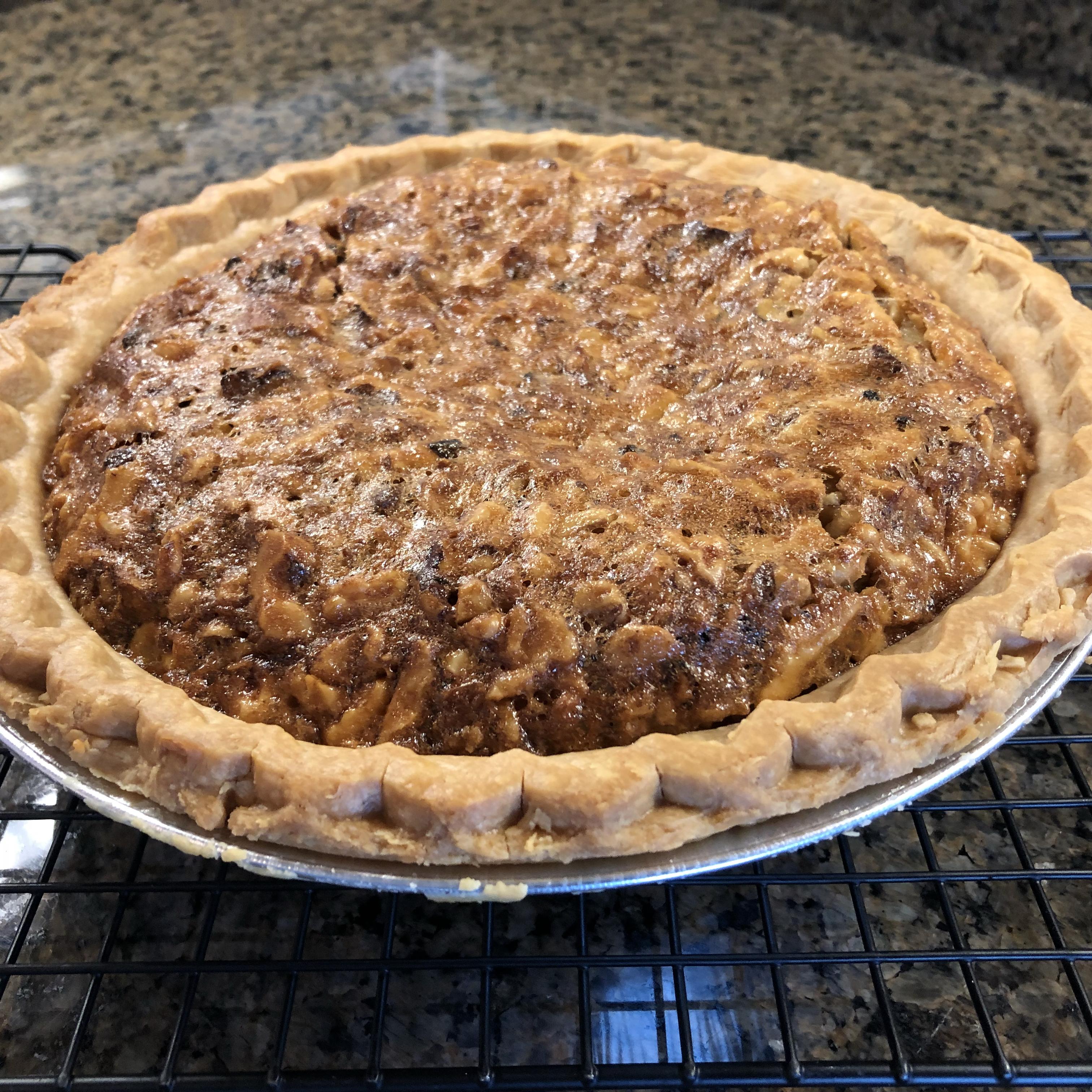 English Walnut Pie