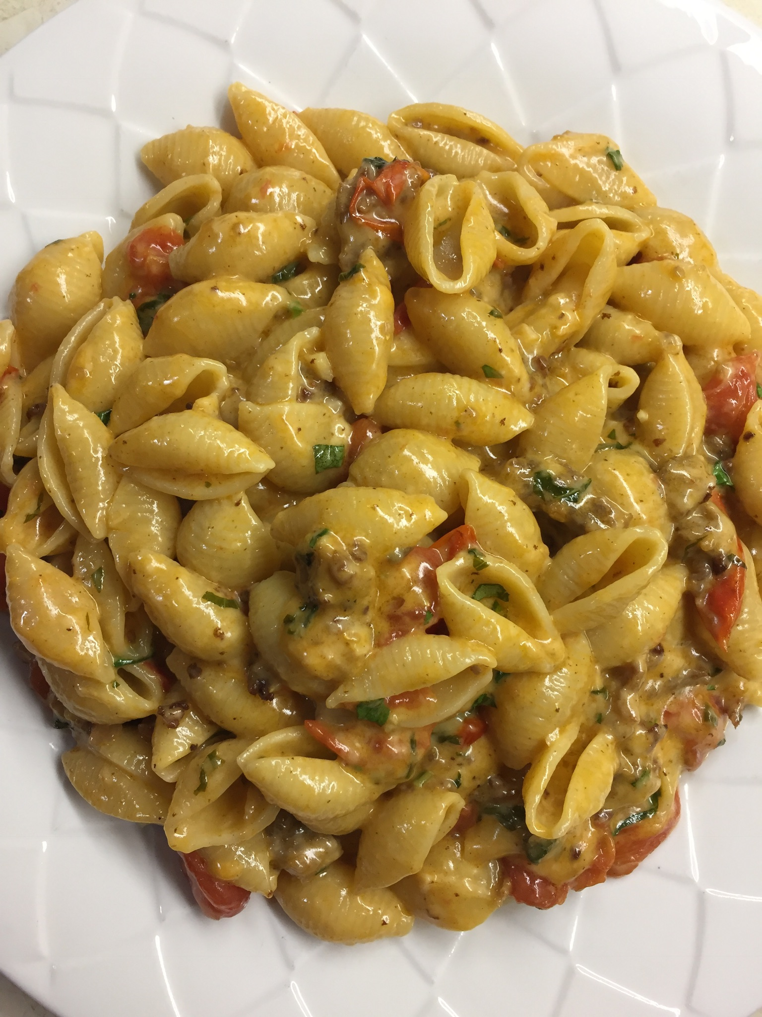 Tomato Basil Penne Pasta canesmojo
