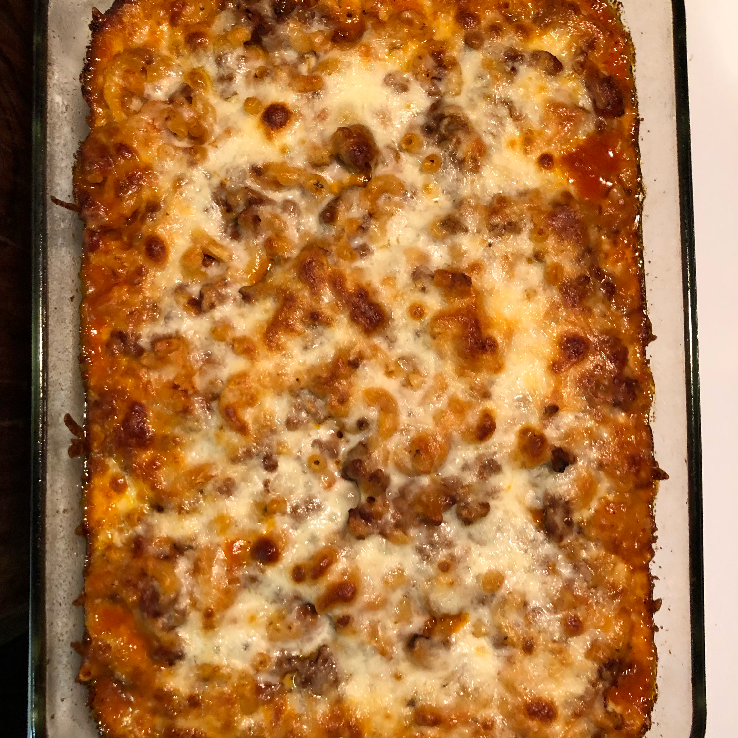 Kid's Favorite Pizza Casserole