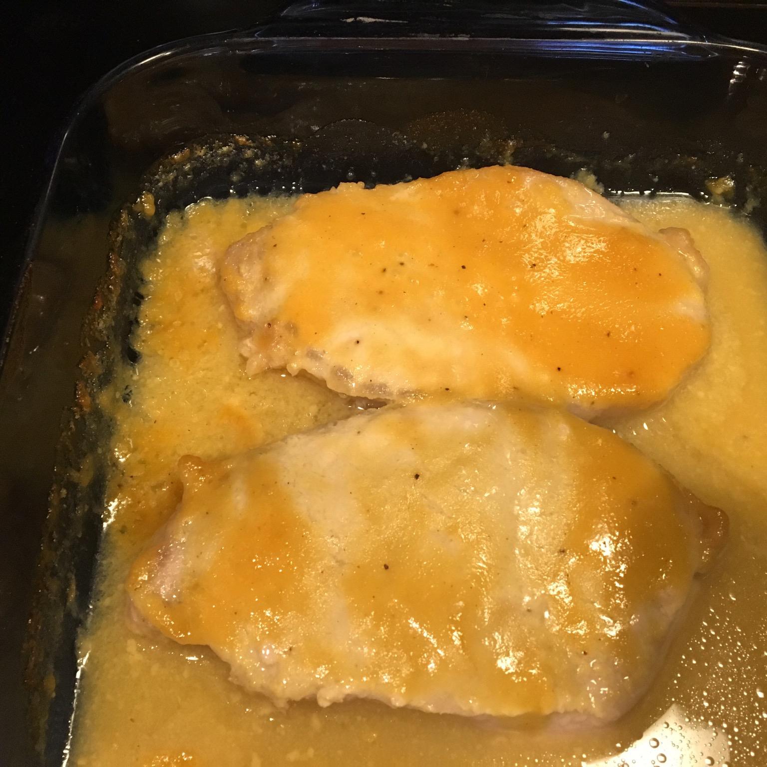 Honey-Dijon Pork Chops