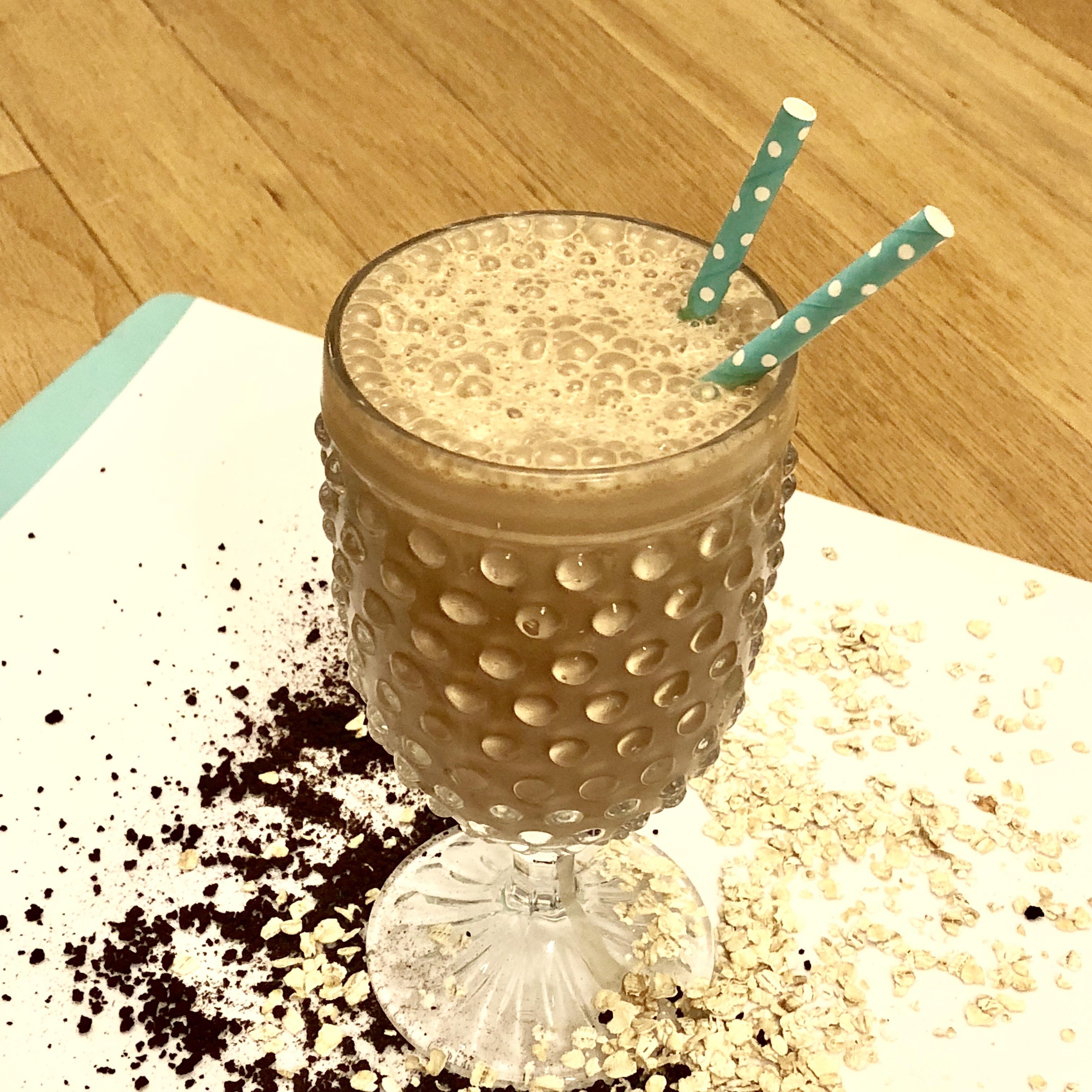 Mocha Oat Protein Shake