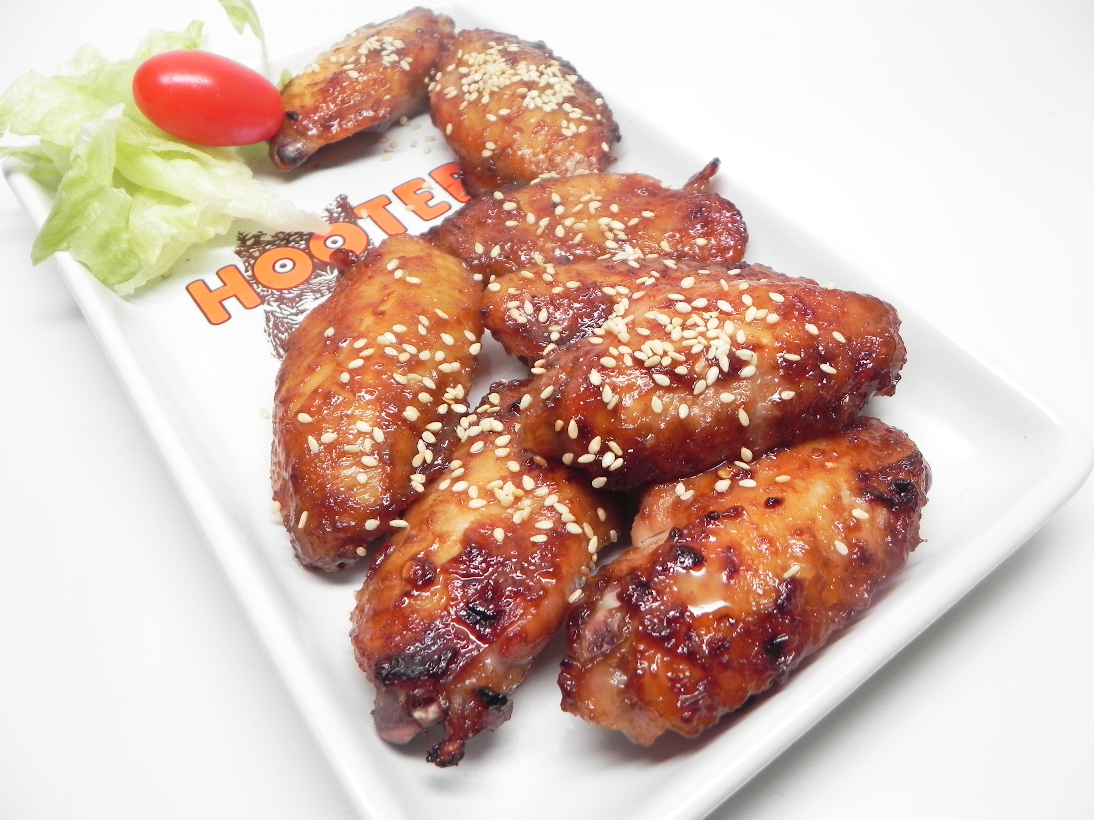 Chicken Wings with Hoisin Sauce and Honey DEBJAPAN