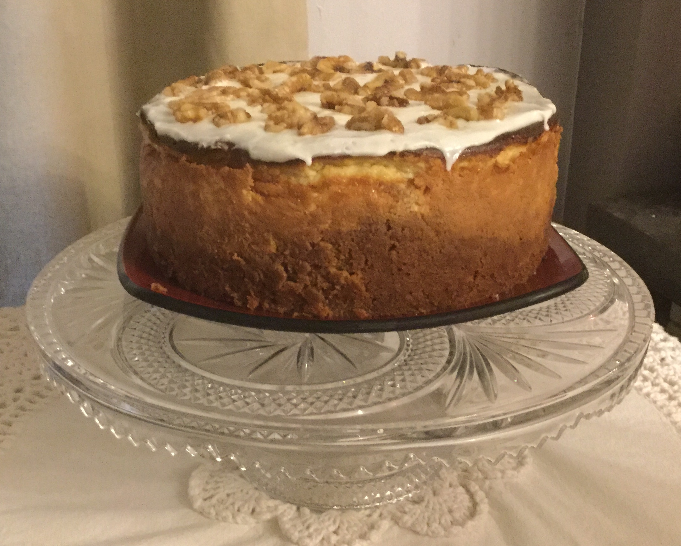 Carrot Cake Cheesecake Debbie Facey