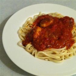 Chicken Meatballs and Spaghetti rmrivera67