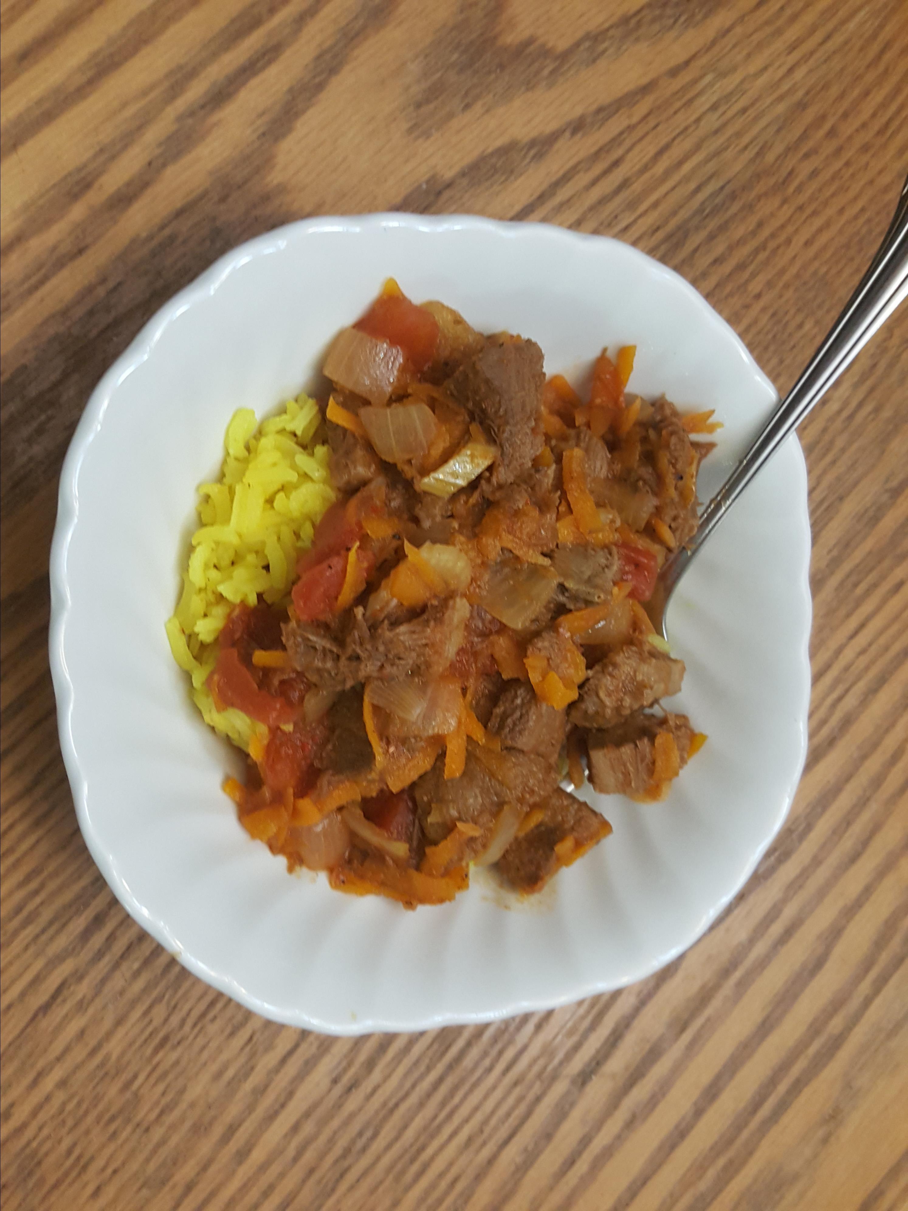 Lengua (Beef Tongue) Stew