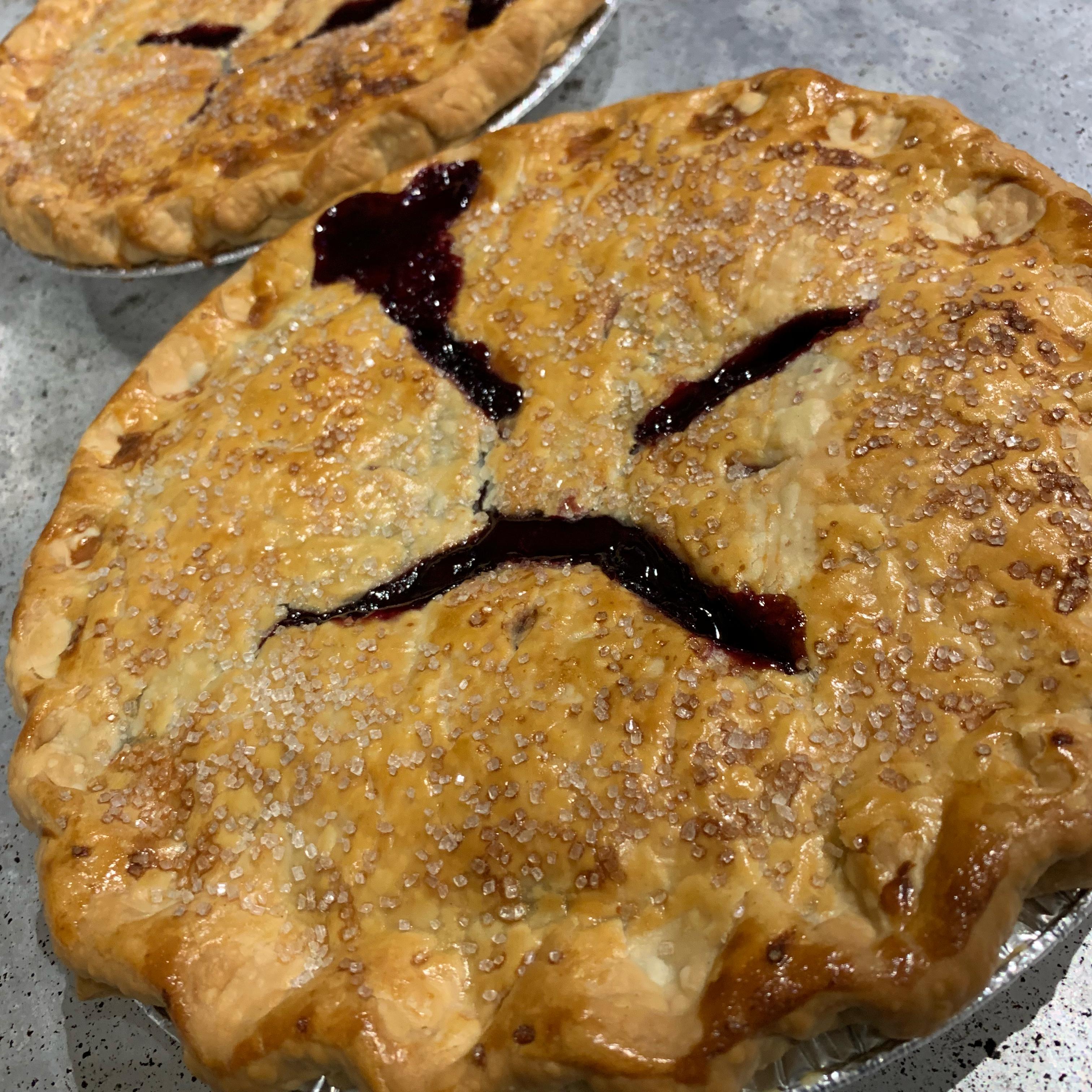 Concord Grape Pie I Rebecca Edwards Henry