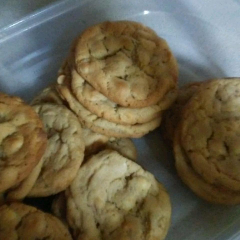 White Chocolate Chunk Cookies Katie Honey
