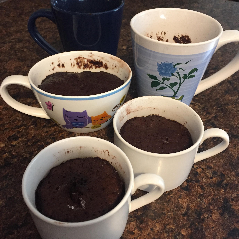 Paleo Chocolate Lover's Mug Cake Rebecca