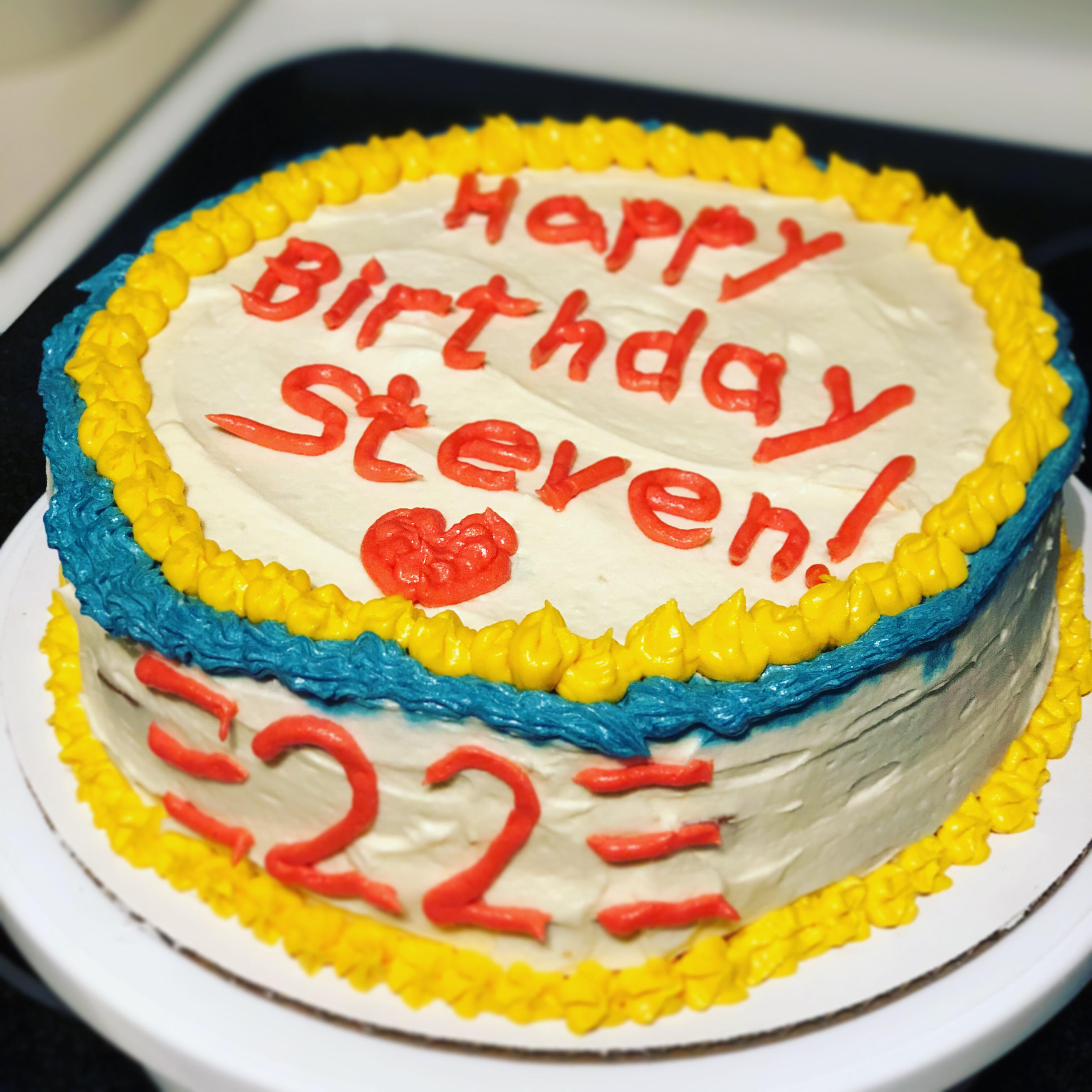 Happy Birthday Cake Brian Michael Schade