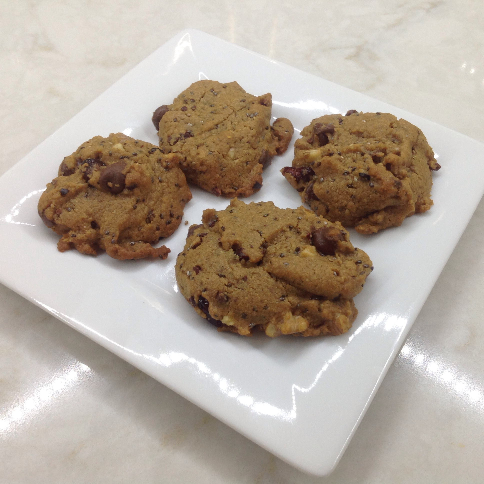 Super Food Chocolate Chip Cookies Joan Crumpler