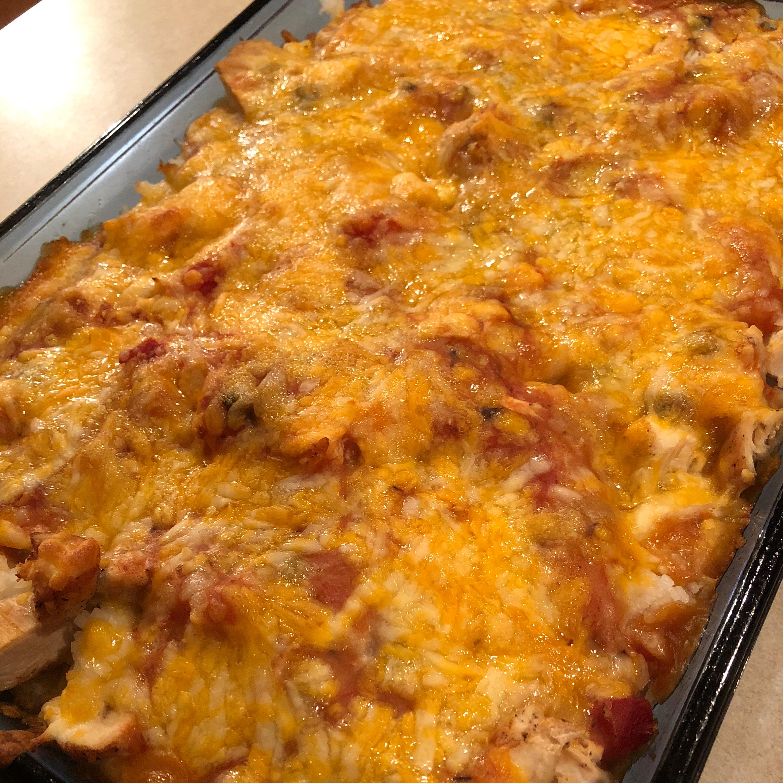 Salsa Chicken Rice Casserole Joy Moore Hall