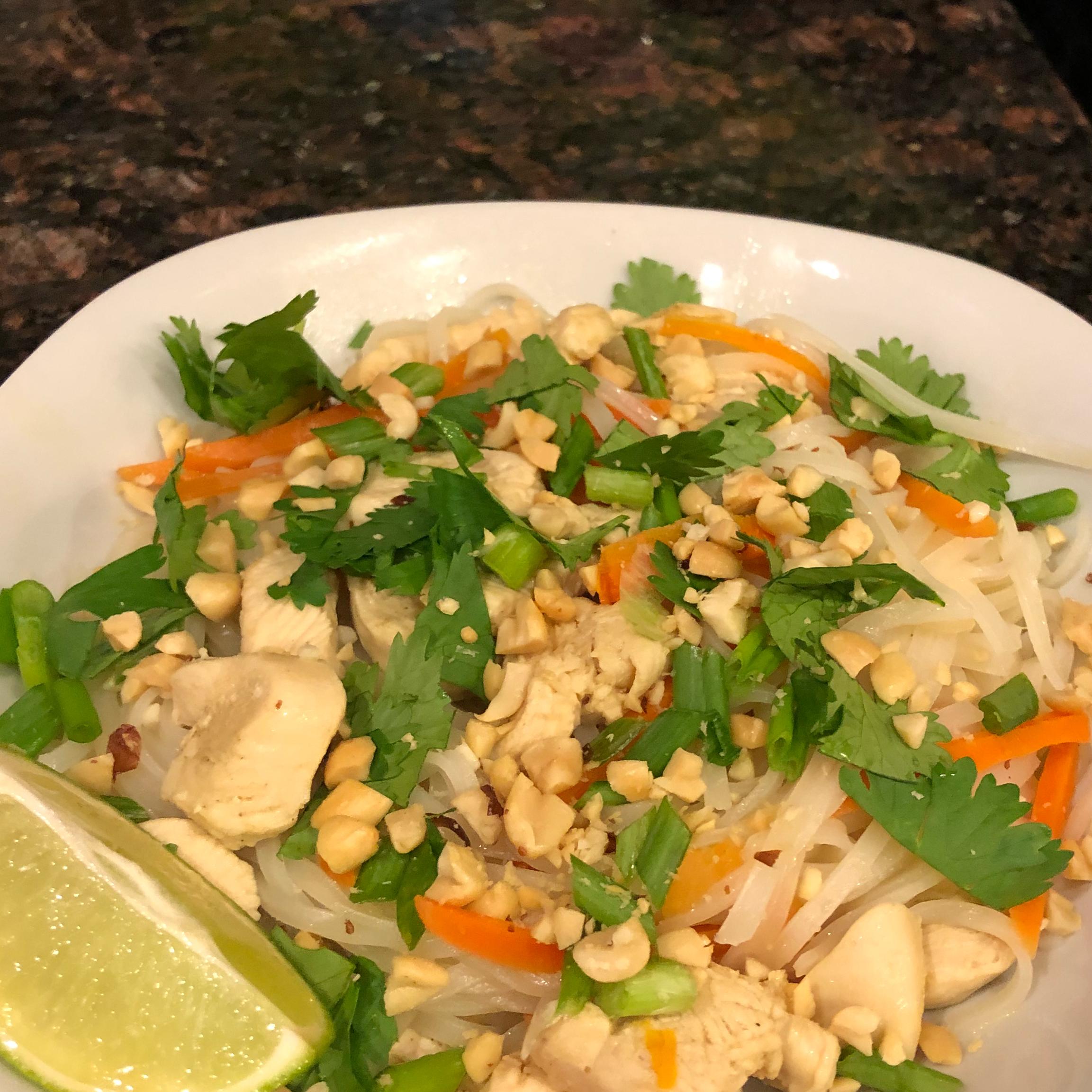 Thai Curry Noodle Bowl