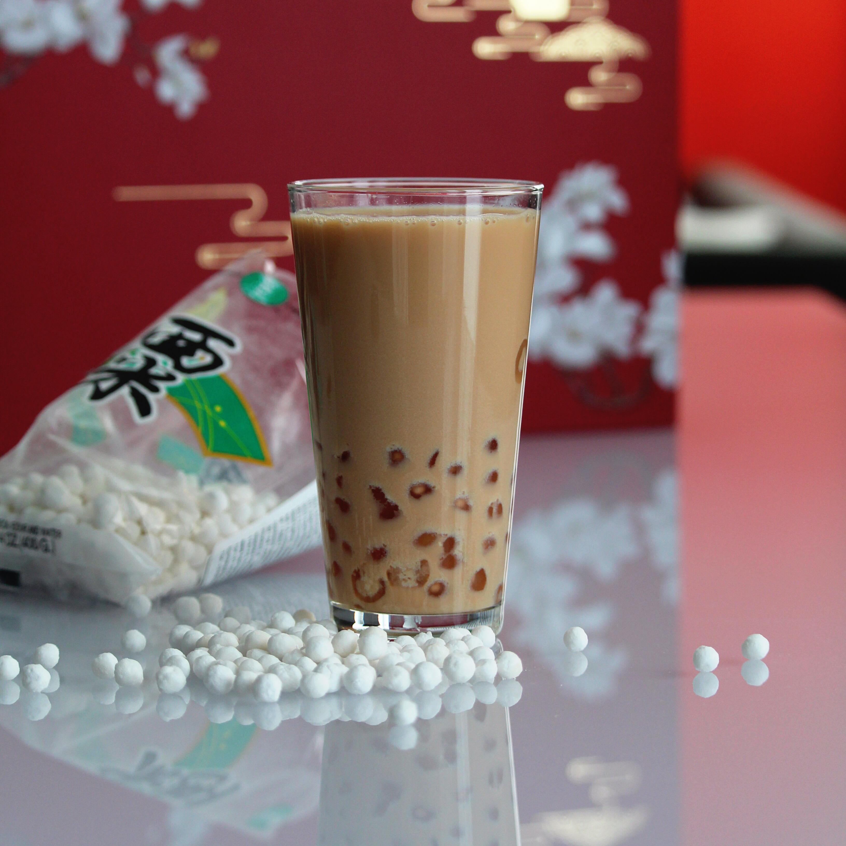 Boba (Coconut Milk Black Tea with Tapioca Pearls)