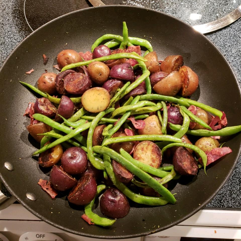 Pan-Roasted Marble Potatoes katlizkeller