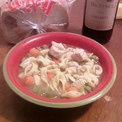 Grilled Chicken Noodle Soup manderz406