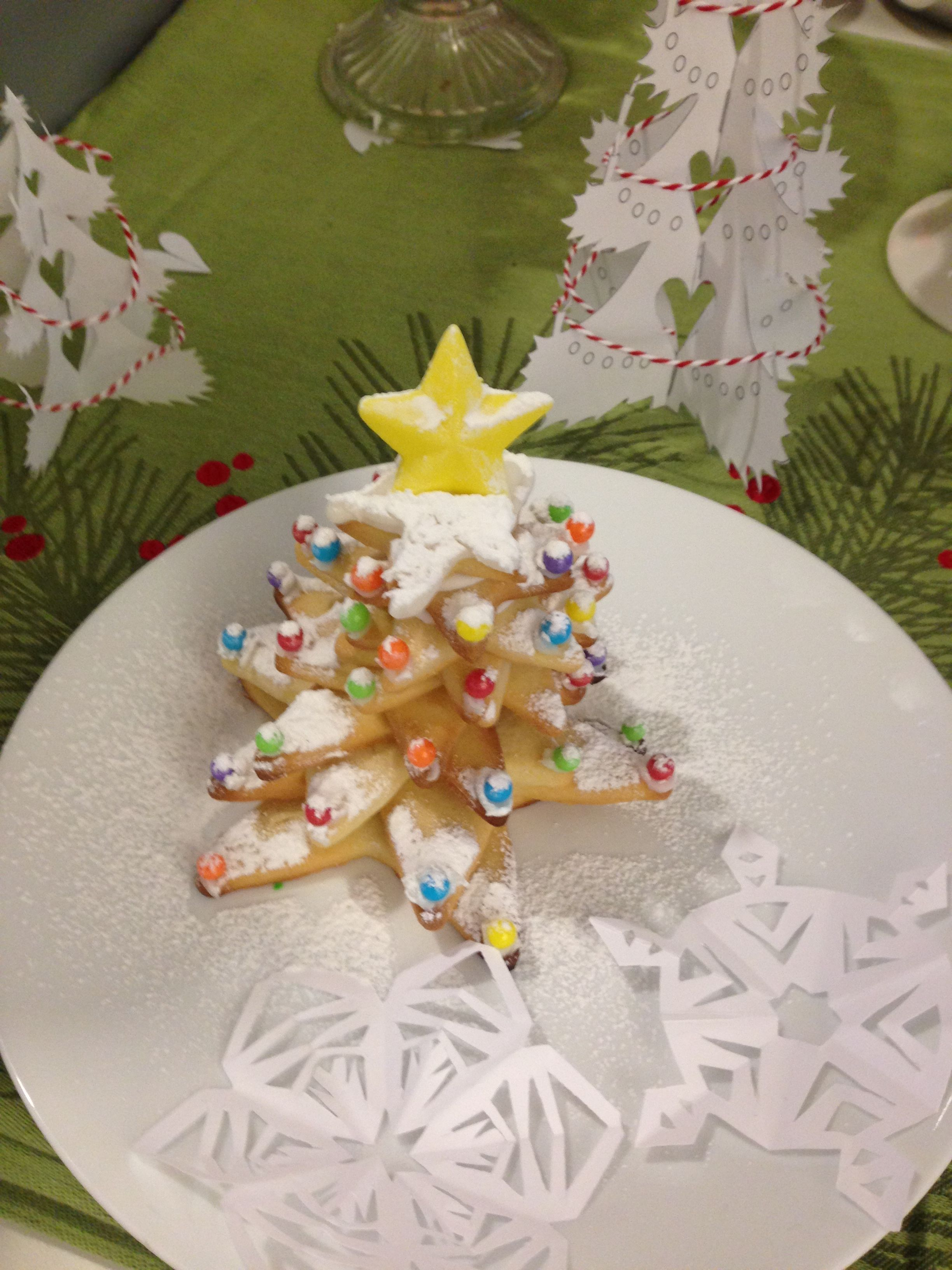 Christmas Tree Cookie Stack Loló