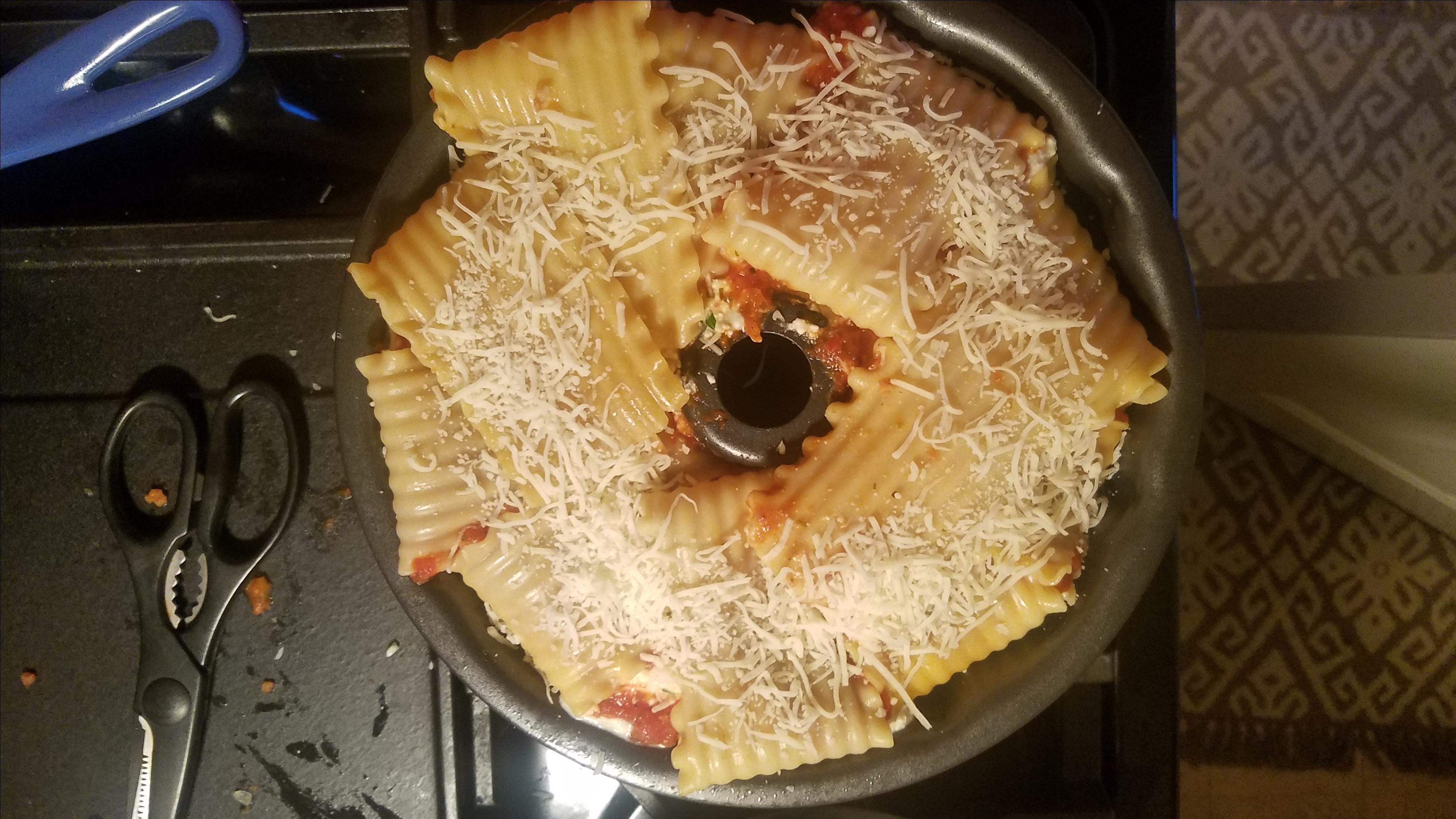 Lasagna Party Ring Ginny Pochuski Rightmyer