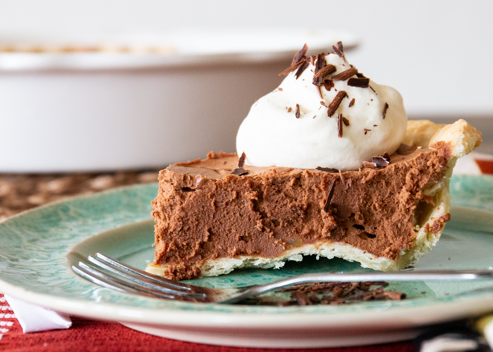 French Silk Chocolate Pie I Ruth