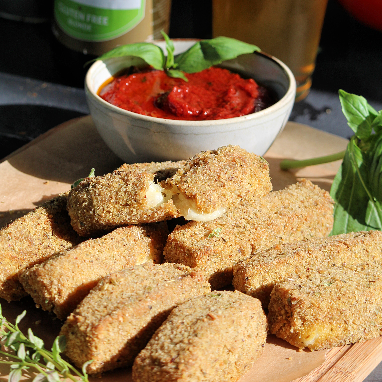 Gluten-Free Mozzarella Sticks