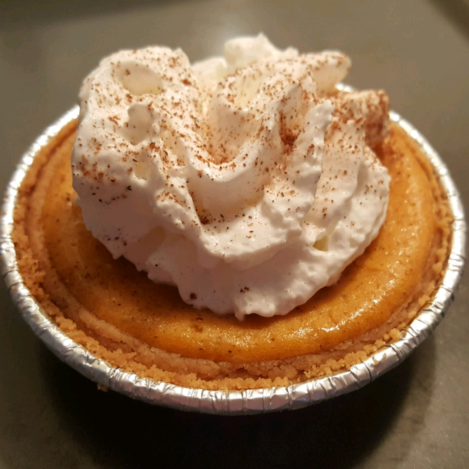 Mini Pumpkin Cheesecake Vanessa Ward