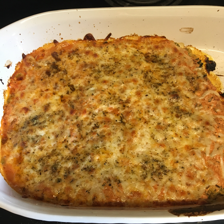 Zucchini Noodle Casserole Dia Naseer