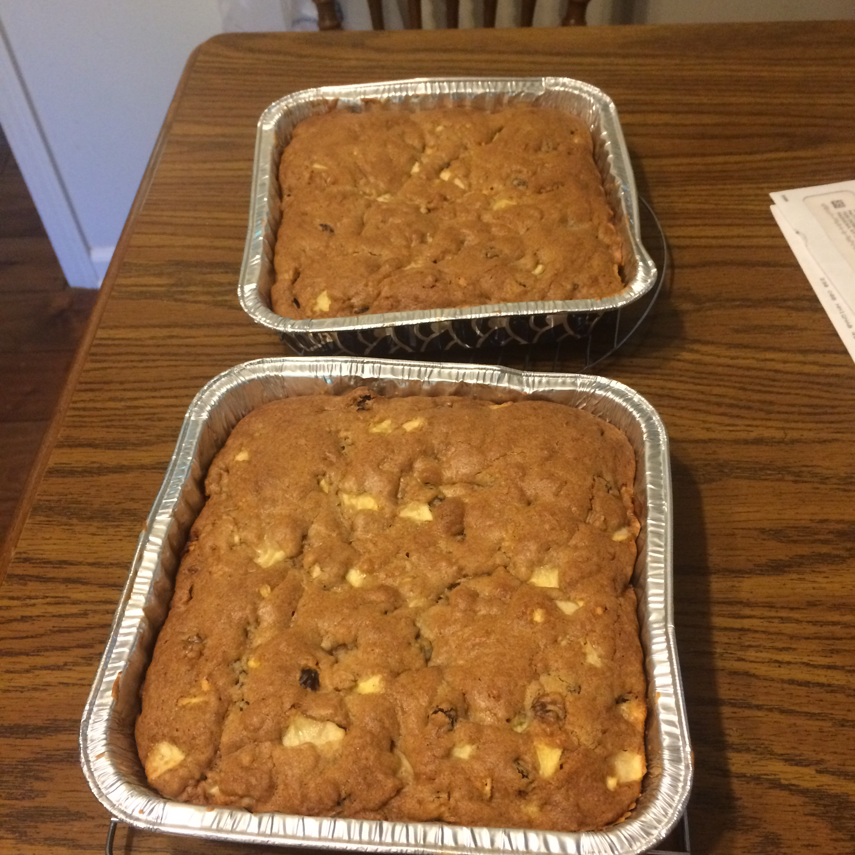 Fresh Apple Walnut Cake Meribeth Massey