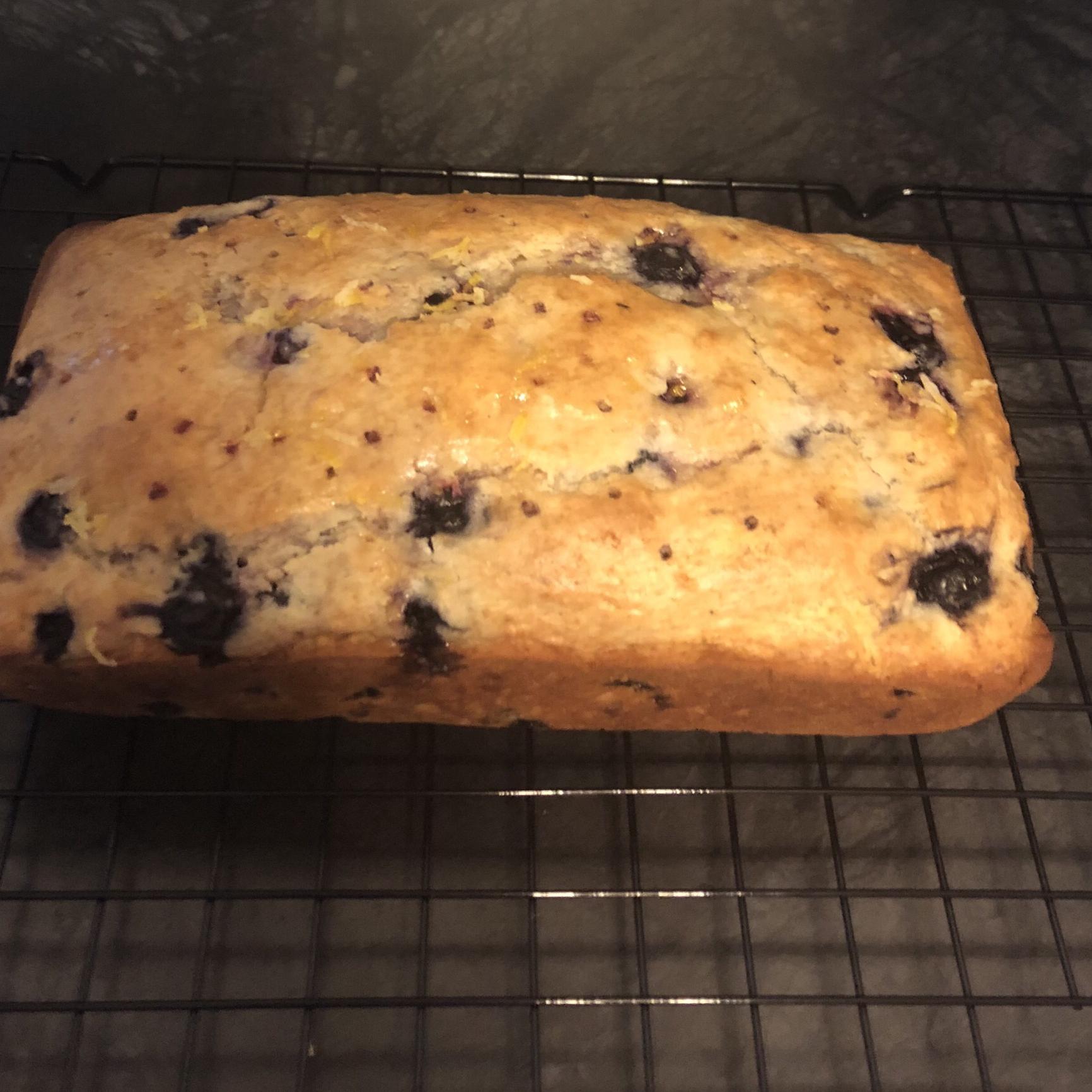 Blueberry Lemon Loaf dan hood