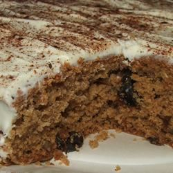 Sour Milk Spice Cake