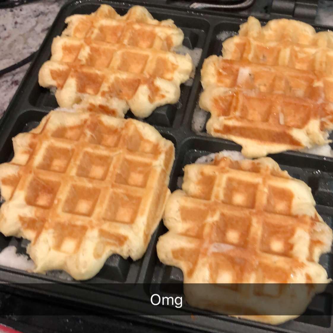 Liege Belgian Waffles with Pearl Sugar Lova Reyes