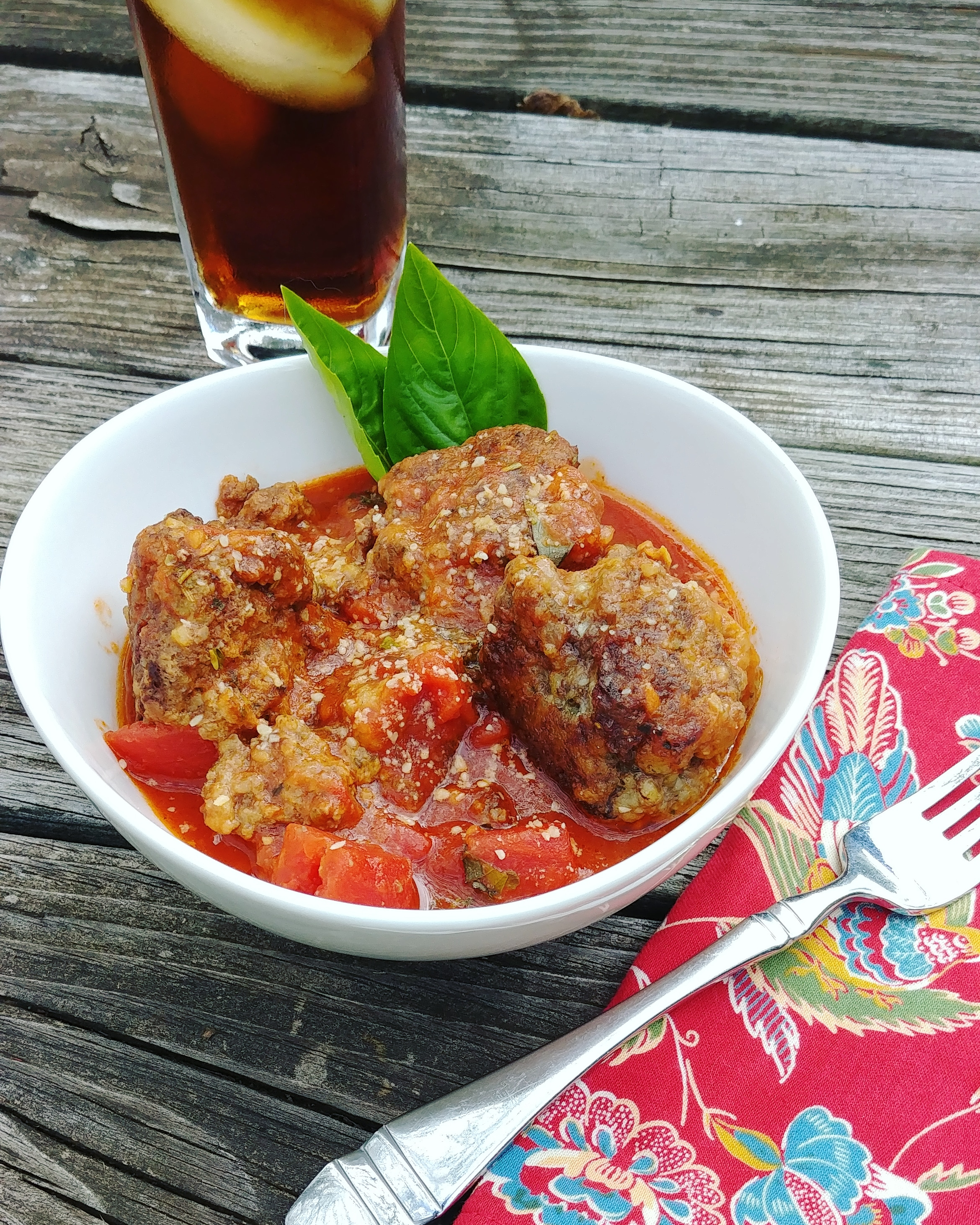 Gluten-Free Parmesan Meatballs Chef Mo